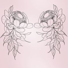 Pink, so that the boys wink Artist: Andrea Roberts Boy Tattoos, Badass Tattoos, Cute Tattoos, Flower Tattoo Designs, Flower Tattoos, Inner Bicep Tattoo, Personalised Gifts For Sister, Girl Power Tattoo, Tattoo People