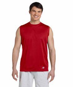 Wholesale Blank N7117 New Balance Men's Ndurance Athletic Workout T-Shirt | Buy in Bulk