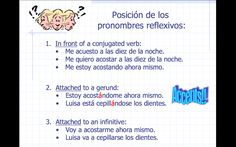 Español Mil Uno: Verbos Reflexivos (ppt)
