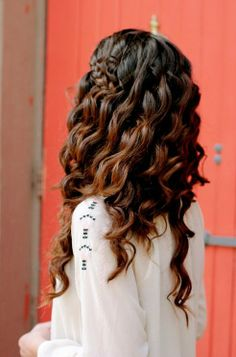 Permed Hairstyles #hairstyles #longhairstyles #hair