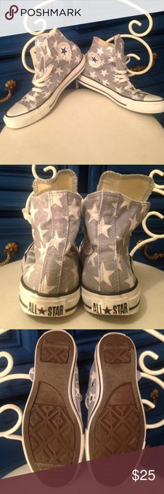 Star converse high tops Star converse high tops - mens size five. Gently  used Converse 1d0083007