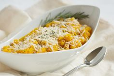 "Butternut ""Risotto"" - omit wine and sub coconut or cashew cream for Whole30."