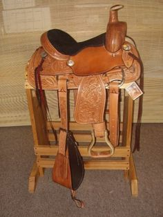 "12"" Youth All Around Show Western Saddle Horse Tack Fqhbars 2048 A   eBay"