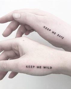 81 Small Meaningful Tattoos for Women Permanent and Temporary Tattoo Designs - Tattoo - Tattoo Frauen Couples Tattoo Designs, Temporary Tattoo Designs, Tattoo Couples, Small Couples Tattoos, Couple Tattoo Ideas, Couple Ideas, Sister Tattoo Designs, Hand Tattoos, Girl Tattoos