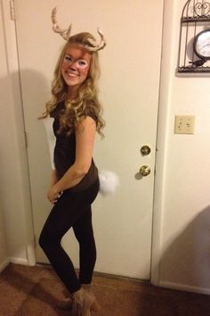 Take off that Halloween deer make-up with this homemade make-up remover recipe!  sc 1 st  Pinterest & 22 Adorable Ideas For A DIY Deer Costume This Halloween | Pinterest ...