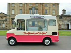 Time Machine Games, Vintage Ice Cream, Ice Cream Van, Advanced Driving, Classic Car Insurance, Van Design, Design Theory, Ice Cream Flavors, Tricycle