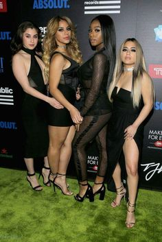 Fifth Harmony attended Republic Records' 2017 #GRAMMYs After Party. #RepublicGrammys, , Despite of ...