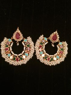 Ram Leela Bal Kundun Gold Pakistani Indian Jewelery by HQJewels