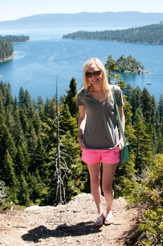 """Girl on the Go: Lake Tahoe """"Hiking Attire"""" for the City Girl - Kelly in the City"""