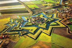 Bourtange, a cidade e fortaleza no norte da Holanda | #Bourtange, #Holanda, #Jmj, #LugaresDoMundo