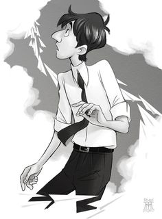 Disney's Paperman George by on DeviantArt New Disney Movies, Disney Pixar, Walt Disney, Paperman Disney, Disney Stuff, Dreamworks, Disney Shorts, Disney Sketches, Cute Disney