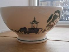 Working Elephants French Bowl 1998 (Discontinued)