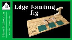 Learn how to build an edge joining sled for your table saw!