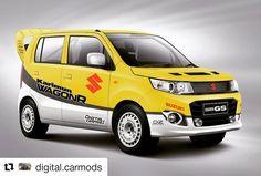 Suzuki Wagon R, City Car, Submission, Cool Cars, Compact, Classic Cars, Wheels, Van, Concept