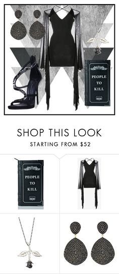 """""""Casting Vices"""" by jndskiddo ❤ liked on Polyvore featuring Killstar, Balmain, Cast of Vices, Latelita, Giuseppe Zanotti, contest and embellishedsleeve"""