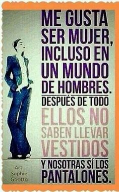 #Frases de #Mujer