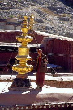 Monastery, Tibet