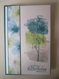 Stampin Jacqueline: Happy Watercolor