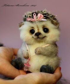 """Copyright Toys Tatiana Barakova. - """"Hedgehogs .."""" """""""