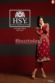 HSY - Luxury Pret Eid 2015 Collection (2)