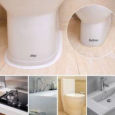 Cheap Bathroom Makeover, Easy Bathroom Updates, Cheap Bathroom Remodel, Budget Bathroom Makeovers, Bathtub Walls, Bathtub Caulking, Bathroom Caulk, Caulking Tips, Bathtub Repair