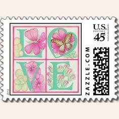 Un sello de Estados Unidos