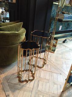 Marble Furniture, Metal Furniture, Furniture Design, Brass Door Handles, Interior And Exterior, Interior Design, New Room, Modern Contemporary, Home Accessories