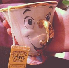 makes drinking tea a lot more fun