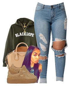 """Untitled #474"" by princess-miyah ❤ liked on Polyvore featuring Givenchy and Puma"