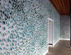 wall installation, image   Flock  Anne Jamison, Debbie Metherell, John Butler, Jonna Behrens
