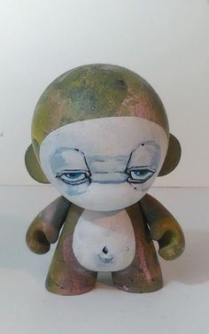 "Droopy Custom Munny 6"" Urban Vinyl Kidrobot 1 1 | eBay"