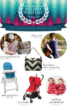 Gift Guide for Expecting Moms & Giveaway #CMBNWishList2014 | City Moms Blog Network
