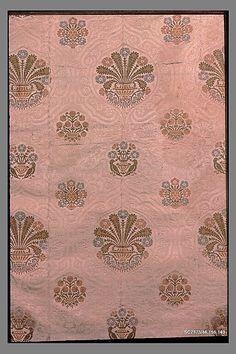 Panel Date: second half 15th century Culture: Italian (Venice) Medium: Silk Dimensions: L. 114 x W. 23 1/2 inches (289.6 x 59.7 cm)