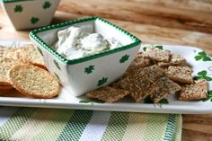 st patty's day herb dip