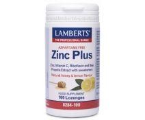 Lamberts Zinc Plus ( Sin Aspartamo ) 100 Pastillas
