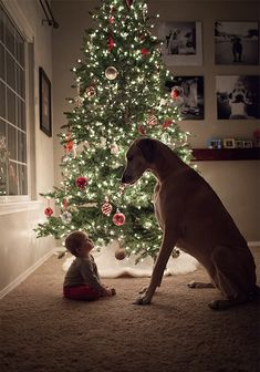 ...and if we're good li'l babies, you & I, Santa will bring us both lots of presents...you just have to believe