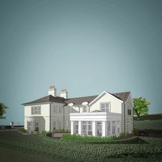 Classical Inspired Homes — Paul McAlister Sustainable and Passive House Architects - Portadown, Belfast, Northern Ireland Passive House, Republic Of Ireland, Architect House, Pool Houses, Inspired Homes, Belfast, Open Up, Northern Ireland, Bespoke