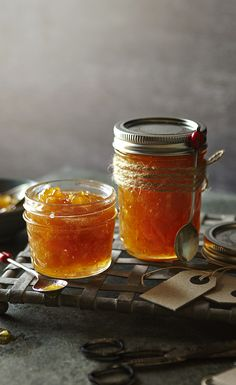 Delicately spiced with fresh root ginger, this sophisticated, glittery jam is sure to be a winning gift. Christmas Baking Gifts, Ginger Jam, Pear Recipes, Spiced Rum, Christmas Pudding, Sweet Sauce, Bagels, Sweet And Salty, Event Styling