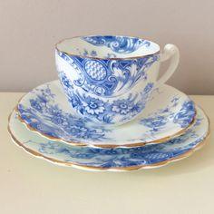 Vintage Trio, Victorian Tea Trio, Antique Trio, Antique Tea, Bone China, English China, Vintage Cup and Saucer, Vintage Tea Party, English https://www.etsy.com/uk/listing/535477489/vintage-trio-victorian-tea-trio-antique