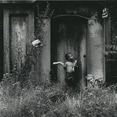 © Ralph Eugene Meatyard      Ralph Eugene Meatyard  untitled (boy holding doll's arm)