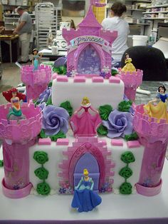 Disney Princess Cake my mom and Dennis had this made for me for my bday a couple years ago! love !