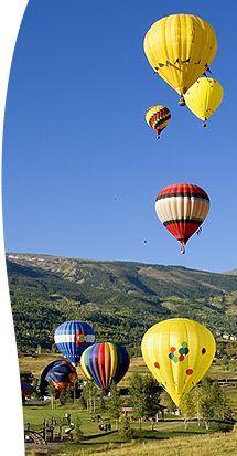 Snowmass, CO    Tags: Colorado Activities Travel Hot Air Balloons