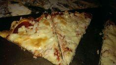 Gluten Free crab pizza