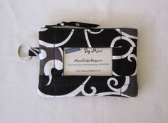 Large ID Wallet Cell Phone Case With Secure Outside by MimisCrafts, $15.00