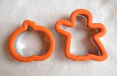Wilton Halloween Comfort Grip Cookie Cutter Lot Ghost Pumpkin Baking Craft Fall