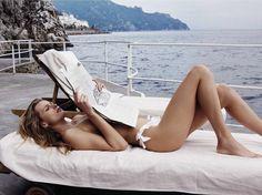 Vogue Spain June 2016 Eeita Vilkeviciute and Andres Velencoso by Benny Horne-1