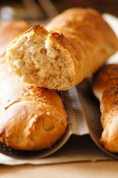thermomix bagietki - Thermomix przepisy Polish Recipes, Bread, Cooking, Food, Thermomix, Kitchen, Polish Food Recipes, Brot, Essen