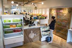 Nice juice unit - produce on display