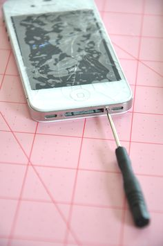 Just in case this tragedy befalls me...how to fix a cracked iPhone look @Andrea Cooley