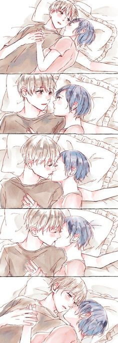 Kaneki x Touka - Tokyo Ghoul Anime Couples Drawings, Anime Couples Manga, Cute Anime Couples, Anime Couple Kiss, Anime Kiss, Yatogami Noragami, Manga Romance, Touka Kaneki, Manga Anime